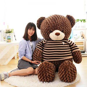 Size 1 (khổ 2.0m – cao 1.6m) - Gấu Teddy Socola