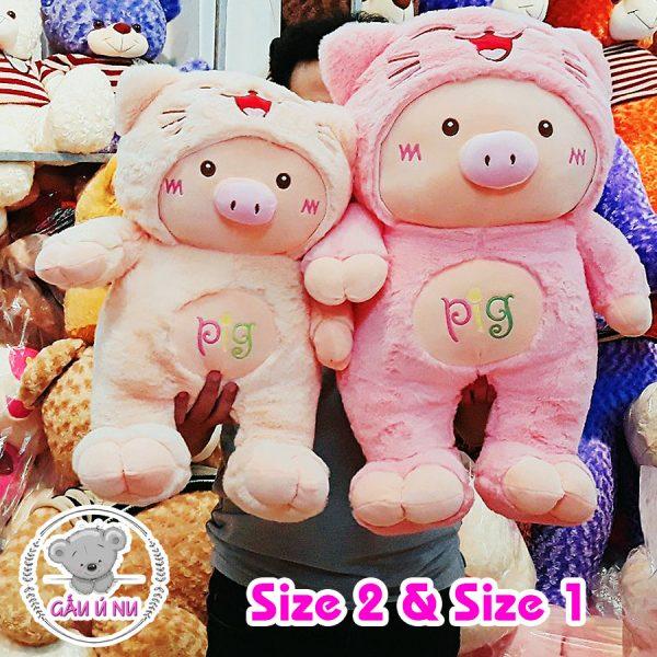 Size 1 và Size 2