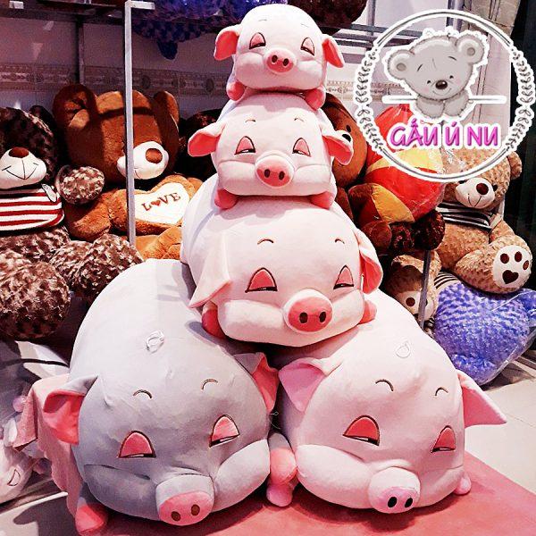 Gia đình heo bông - Heo Lim Dim - Heo Hồng Buồn Ngủ